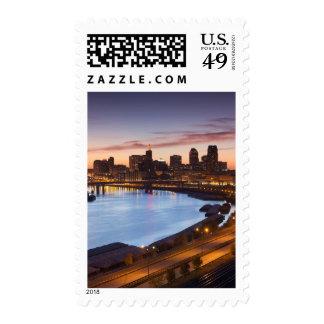 USA, Minnesota, Minneapolis, St. Paul 2 Stamps