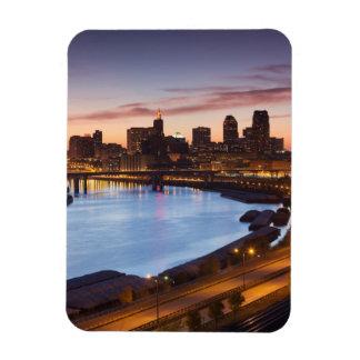 USA, Minnesota, Minneapolis, St. Paul 2 Rectangular Photo Magnet