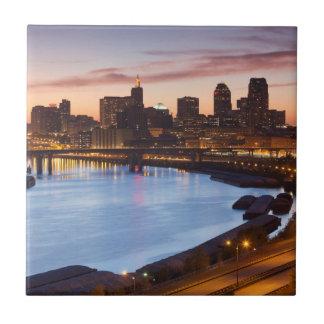USA, Minnesota, Minneapolis, St. Paul 2 Tile
