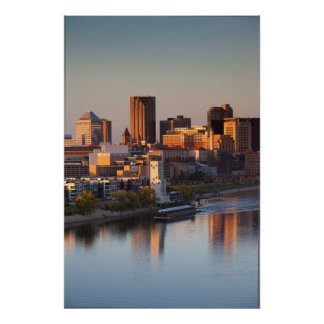USA, Minnesota, Minneapolis, St. Paul 3 Poster