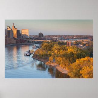 USA, Minnesota, Minneapolis, St. Paul Poster