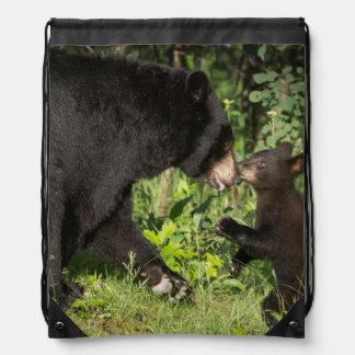 USA, Minnesota, Sandstone, Minnesota Wildlife 13 Drawstring Backpack