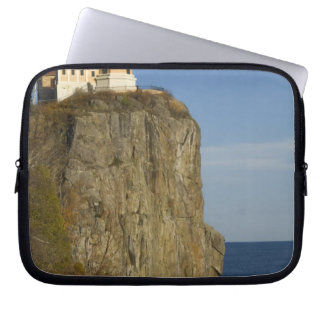 USA, Minnesota.  Split Rock Lighthouse on Lake Computer Sleeve