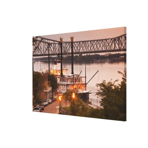 USA, Mississippi, Natchez. Natchez Under the Gallery Wrap Canvas