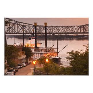 USA, Mississippi, Natchez. Natchez Under the Photo Print
