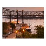 USA, Mississippi, Natchez. Natchez Under the Postcard