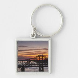 USA, Mississippi, Vicksburg. I-20 Highway and Keychain