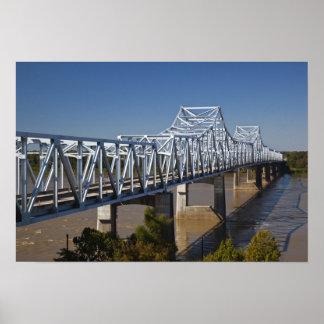 USA, Mississippi, Vicksburg. I-20 Highway Poster