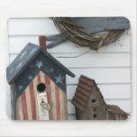 USA, Missouri, Herman: Patriotic Birdhouses, Mouse Pad