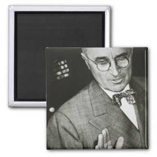 USA, Missouri, Independence, Truman Presidential 2 Inch Square Magnet