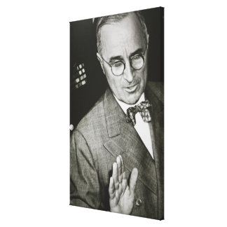 USA, Missouri, Independence, Truman Presidential Gallery Wrap Canvas