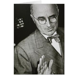 USA, Missouri, Independence, Truman Presidential Greeting Card