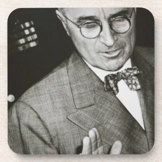USA, Missouri, Independence, Truman Presidential Beverage Coaster