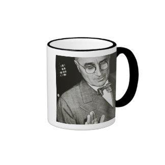 USA, Missouri, Independence, Truman Presidential Ringer Coffee Mug