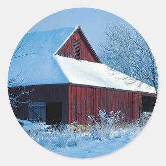 USA, Missouri, Jackson County, Fleming Park Classic Round Sticker