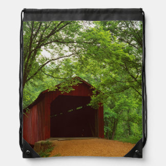 USA, Missouri, Jefferson County, Sandy Creek Drawstring Backpack