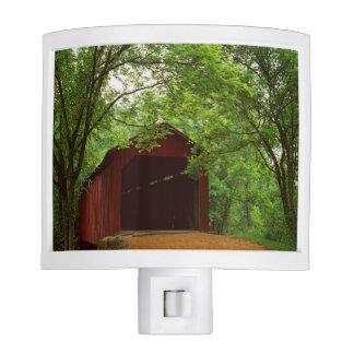 USA, Missouri, Jefferson County, Sandy Creek Night Light