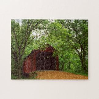 USA, Missouri, Jefferson County, Sandy Creek Puzzle