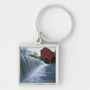 USA, Missouri, Ozark County, Rockbridge Mill Keychain