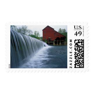 USA, Missouri, Ozark County, Rockbridge Mill Stamp