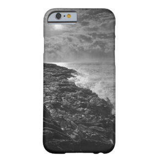 USA. Molten lava flows into the ocean at sunrise Barely There iPhone 6 Case