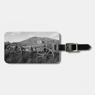 USA, Montana, Bannack State Park Old wagon made Bag Tag