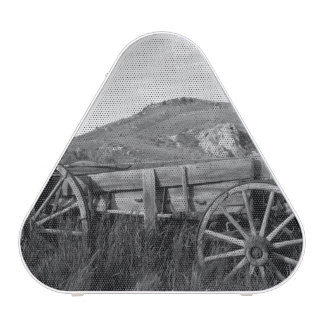 USA, Montana, Bannack State Park Old wagon made Bluetooth Speaker
