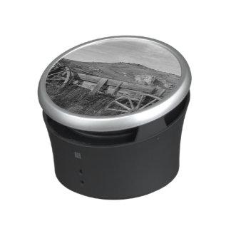 USA, Montana, Bannack State Park Old wagon made Bluetooth Speaker
