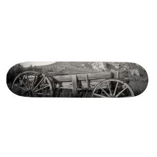 USA, Montana, Bannack State Park Old wagon made Skateboard Decks