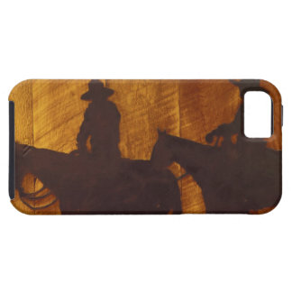 USA, Montana, Boulder River Cowboys on horses iPhone SE/5/5s Case