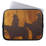 USA, Montana, Boulder River Cowboys on horses Laptop Computer Sleeve