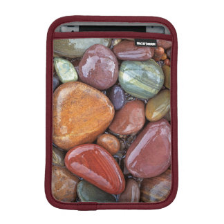 USA, Montana, Clark Fork River, Stones 2 Sleeve For iPad Mini