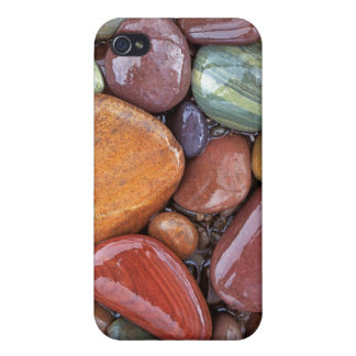 USA, Montana, Clark Fork River, Stones 2 Covers For iPhone 4