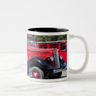 USA, Montana, East Glacier Park, gateway to Two-Tone Coffee Mug