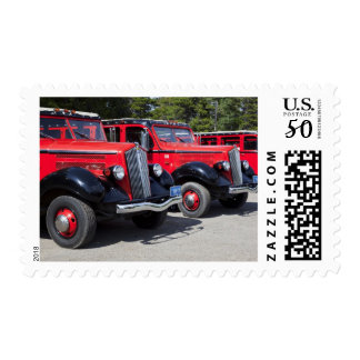USA, Montana, East Glacier Park, gateway to Postage