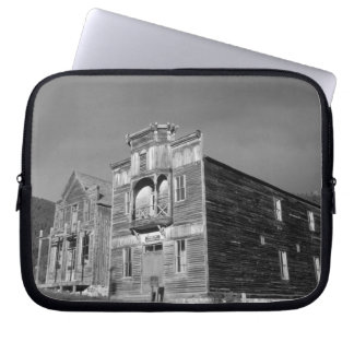 USA, Montana, Elkhorn Fraternity Hall meeting Laptop Sleeves