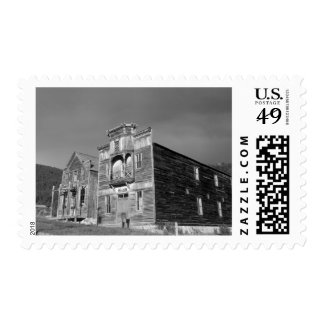 USA, Montana, Elkhorn Fraternity Hall meeting Postage