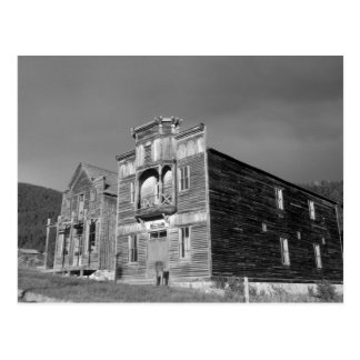 USA, Montana, Elkhorn Fraternity Hall meeting Post Card