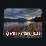 "USA, Montana, Glacier National Park 1 Magnet<br><div class=""desc"">USA,  Montana,  Glacier National Park,  Lake MacDonald | Rona Schwarz / DanitaDelimont.com</div>"