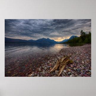 USA, Montana, Glacier National Park 1 Poster