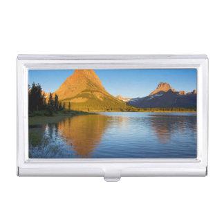 USA, Montana, Glacier National Park 2 Business Card Holder