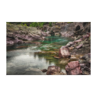 USA, Montana, Glacier National Park 2 Canvas Print