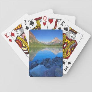 USA, Montana, Glacier National Park 4 Playing Cards