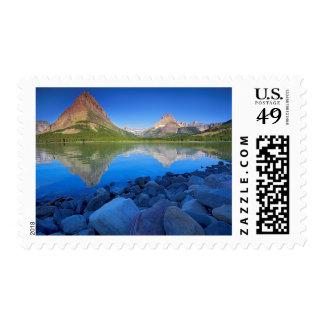 USA, Montana, Glacier National Park 4 Postage Stamp