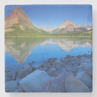USA, Montana, Glacier National Park 4 Stone Coaster
