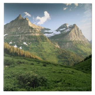 USA, Montana, Glacier National Park Large Square Tile