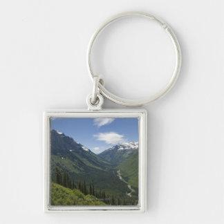 USA, Montana, Glacier National Park, scenic Keychain