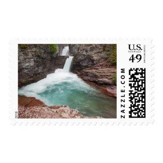 USA, Montana, Glacier National Park, St. Mary Postage Stamps