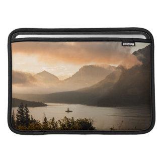 USA, Montana, Glacier National Park. Sunrise MacBook Sleeves