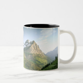 USA, Montana, Glacier National Park Two-Tone Coffee Mug